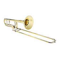 S.E. SHIRES Custom 7YLW Tenor Trombone with Tru-Bore F Attachment (Shires Custom-7YLW)