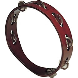SCHALLOCH Wood Tambourine - Single Row (900.036)