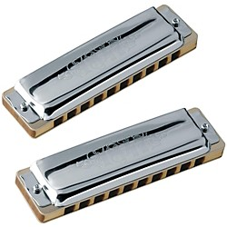 SEYDEL Set of 5 - Blues 1847 Harmonicas CLASSIC and Softcase (16216)
