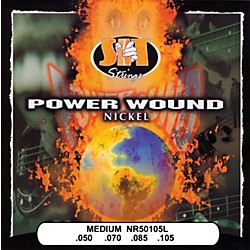 SIT Strings NR50105L Medium Power Wound Nickel Bass Strings (NR50105L)
