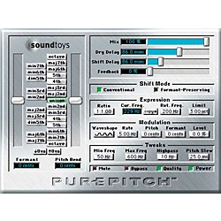SOUND TOYS PurePitch TDM V4 Software Download (1043-19)