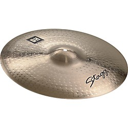 STAGG DH Dual-Hammered Brilliant Crash Ride Cymbal (DH-RC20B)