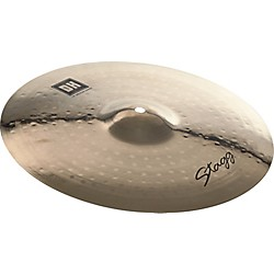 STAGG DH Dual-Hammered Brilliant Medium Crash Cymbal (DH-CM15B)