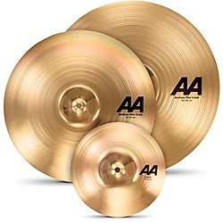 "Sabian AA Crash Cymbal Set with Free 10"" Splash (25004BMF)"