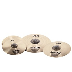 Sabian AA Metal-X Performance Set Cymbal Pack (25005MB)