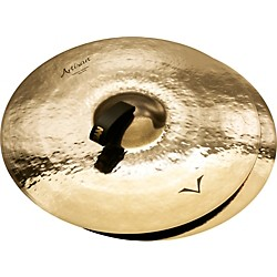 Sabian Artisan Traditional Symphonic Extra Dark Medium Crash - Brilliant (A2055EB)