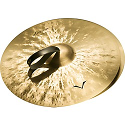 Sabian Artisan Traditional Symphonic Medium Light Cymbals (A1656)