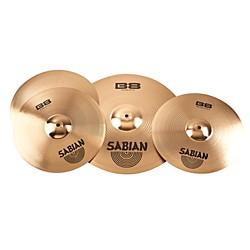Sabian B8 Performance 2 Pack with Free 14 Inch Crash (45002-14)