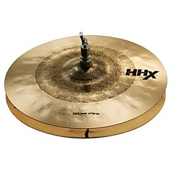 Sabian HHX Click Hats Brilliant Finish (11402XBC)
