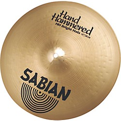 Sabian Hand Hammered Bright Hi-Hats Brilliant (11481B)