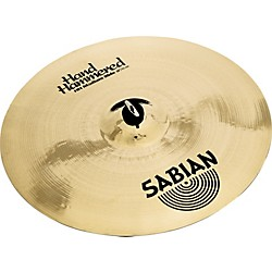 Sabian Hand Hammered Medium Ride Cymbal Brilliant (12012B)