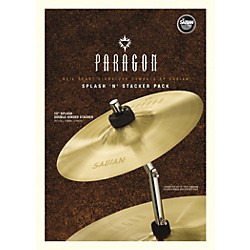 Sabian Neil Peart Paragon Splash 'n' Stacker Cymbal Pack (NP1005NSP)