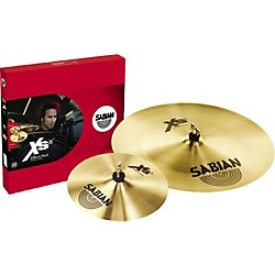 Sabian Xs20 Effects Cymbal Pack, Brilliant (XS5005EB)
