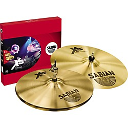 "Sabian Xs20 First Pack with 14"" Hats, Brilliant (XS5011B)"