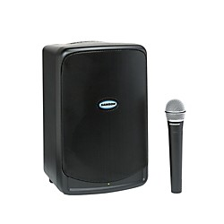 Samson Expedition XP40iw 40W Battery Powered Portable PA w/iPod Dock & Wireless Microphone (SAXP40iw)