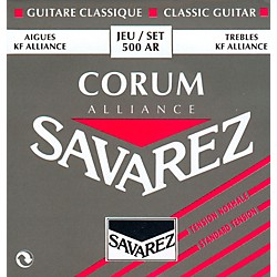 Savarez 500AR NT Alliance Trebles Corum Basses Standard Tension Guitar Strings (50002)