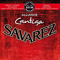 Savarez 510AR NT Alliance Trebles Cantiga Basses Standard Tension Guitar Strings (50354)