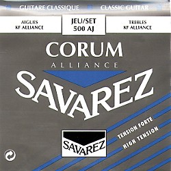 Savarez Corum Alliance 500AJ High Tension Classical Guitar Strings (500AJ)