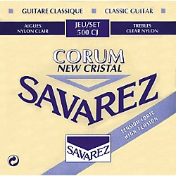 Savarez Corum New Cristal 500CJ High Tension Strings (500CJ)