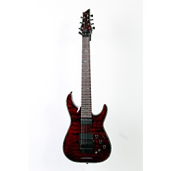 Schecter Guitar Research Hellraiser C-7 with Floyd Rose Sustaniac Electric Guitar (USED005004 1829)