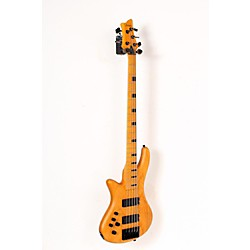 Schecter Guitar Research Session Stiletto-5 5 String Left Handed Electric Bass Guitar (USED005001 2855)