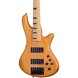 Schecter Guitar Research Stiletto-5 Session 5 String Electric Bass Guitar (2851)