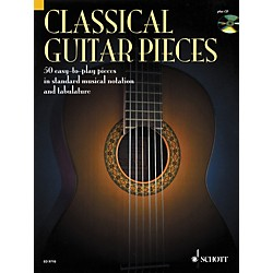 Schott Classical Guitar Pieces in Tab & Notation Book with CD (49013077)