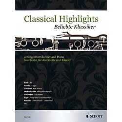 Schott Classical Highlights Arranged For Clarinet and Piano (49019551)