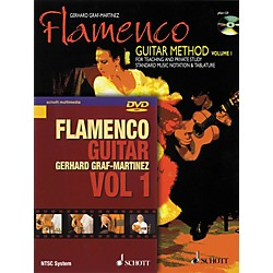 Schott Flamenco Guitar Method Volume 1 Book with CD and DVD (49033064)