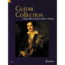 Schott Guitar Collection Famous Pieces from Carulli to Tarrega Standard Notation (49013065)