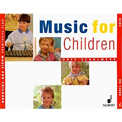 Schott Music For Children Accompaniment CD's (Complete Set Of 3) for Orff (49003152)