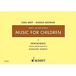 Schott Music For Children Vol. 5 Minor - Dominant and Subdominant Triads by Carl Orff arr by Keetman/Murray (49002582)