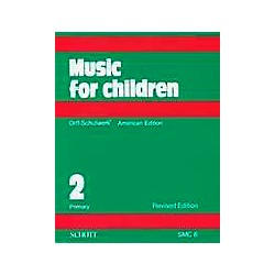 Schott Music For Children Volume 2: Primary by Carl Orff and Gunild Keetman (49012190)