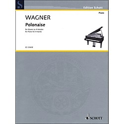 Schott Polonaise For Piano: 4 Hands (49017852)