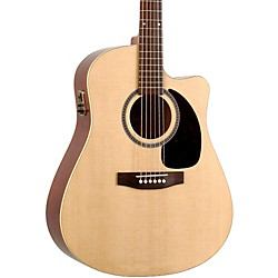 Seagull Coastline Series S6 Slim Cutaway Dreadnought QI Acoustic-Electric Guitar (USED004000 30910)