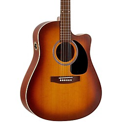 Seagull Entourage Rustic CW QIT Acoustic-Electric Guitar (USED004000 33430)