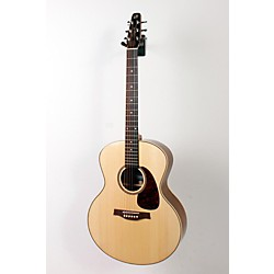 Seagull Maritime SWS Mini Jumbo High Gloss QI Acoustic-Electric Guitar (USED005008 32440)