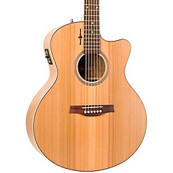 Seagull Natural Cherry CW Mini Jumbo SG Acoustic-Electric Guitar (USED004000 036400)