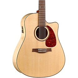 Seagull Performer Cutaway Flame Maple High Gloss QI Acoustic-Electric Guitar (USED004000 32464)