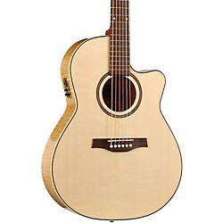 Seagull Performer Cutaway Folk QI Acoustic-Electric Guitar (USED004000 32457)