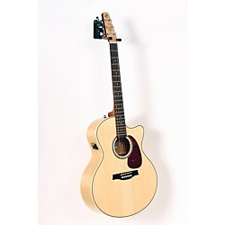 Seagull Performer Cutaway Mini Jumbo Flame Maple High Gloss QI Acoustic-Electric Guitar (USED005007 32471)