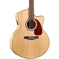 Seagull Performer Cutaway Mini Jumbo Flame Maple QI Acoustic-Electric Guitar (32471 USED)