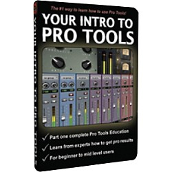 Secrets of the Pros Your Intro to Pro Tools DVD-Rom (PT-Intro)