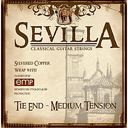 Sevilla Classical Guitar Strings Medium Tension Classical Tie-On Guitar Strings (8440)