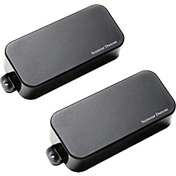 Seymour Duncan AHB-1s Blackouts Phase 1 7-String Active Humbucker Neck and Bridge Pickup Set (11106-35-B-7Str)