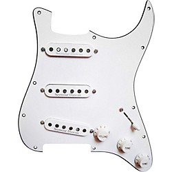 Seymour Duncan Prewired Pickguard with California 50's SSL-1 Pickups White (11550-01-W)