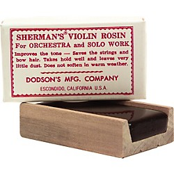 Sherman Dark Violin and Viola Rosin (145DO)