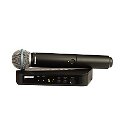 Shure BLX24/B58 Handheld Wireless System with Beta 58A Capsule (BLX24/B58=-J10)