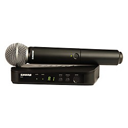 Shure BLX24/SM58 Handheld Wireless System with SM58 Capsule (BLX24/SM58-K12)