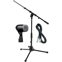 Shure Beta 52A Kick Mic with Cable and Stand (Beta52APack)